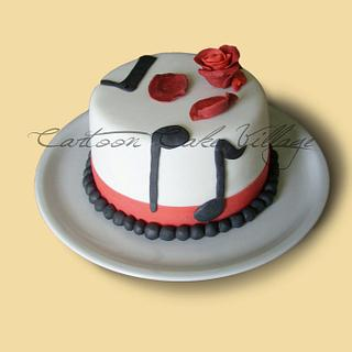 Music - Cake by Eliana Cardone - Cartoon Cake Village