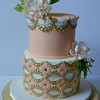 Brooch cake