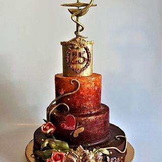 anniversary of the pharmacy - Cake by Torty Zeiko