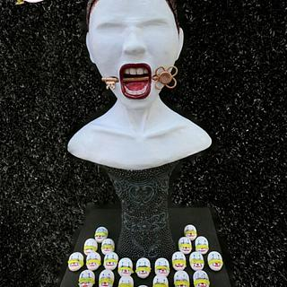AHS-Hotel Americake Horror Story Collaboration  - Cake by Sugar Prunk