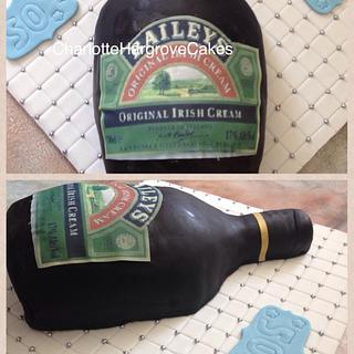 Bailey Bottle Cake