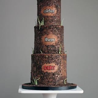 Older Than Dirt Cake