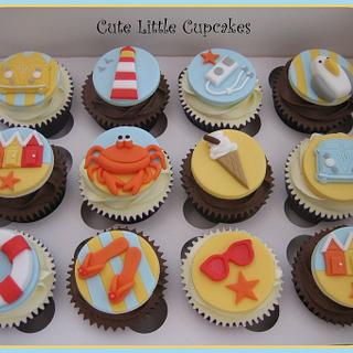 Beside the Seaside Cupcakes