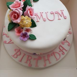 My 1st cake post