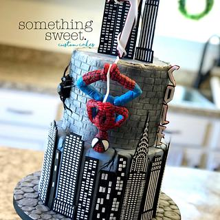 Spider-Man Cake - Cake by Something Sweet