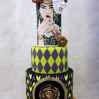 The woman behind the mask - Sweet World Carnival Collaboration