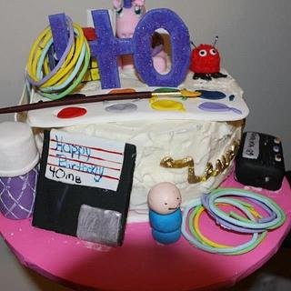 Blast From the Past - Cake by Maureen