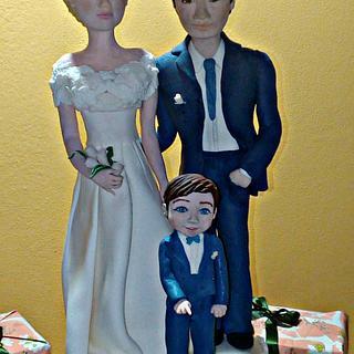 Wedding topper cake - Cake by Torte decorate di Stefy by Stefania Sanna