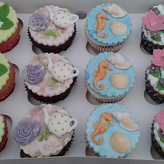 Summer time cupcakes