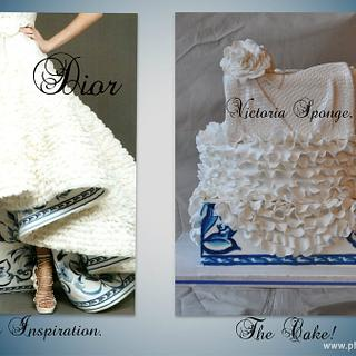 Inspired by Dior - Cake by Victoria Forward