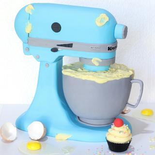 3D Kitchen Aid Cake