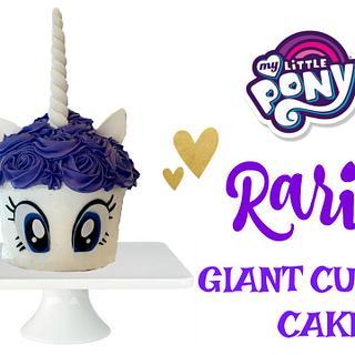 RARITY GIANT CUPCAKE CAKE!