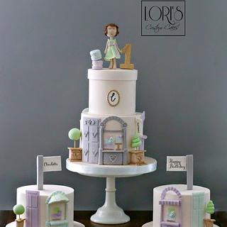 Boutique themed 1st Birthday