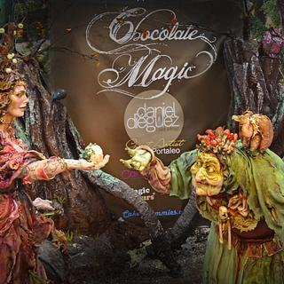 Chocolate Magic with Karen Portaleo at Cake International