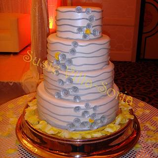 Silver and Yellow Wedding