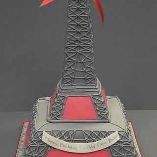 Eiffel Tower Paris Theme