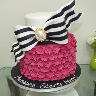 For a fashionista - Cake by Valory