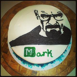 Breaking Bad Cake - Cake by YoureBakingMeCrazy