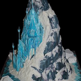 Another Frozen Castle Cake