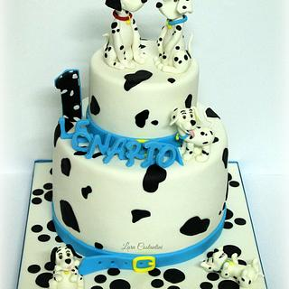 One Hundred and One Dalmatians Cake!!!