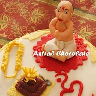 Thread Ceremony Cake