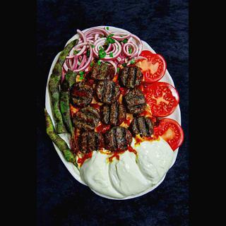 Food Cake Challenge Pideli Kofte  (Pita Meatballs )