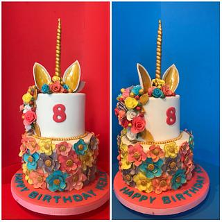 Unicorn Cake - Cake by Pogihekk44