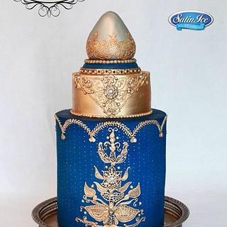 Cobalt Opulence - Cake by AmberTopTierAdamson
