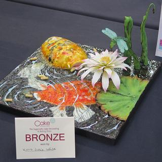 Koi capers - Cake by Julie White