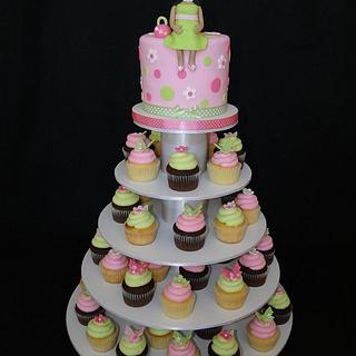 Pregnant Mommy Cake