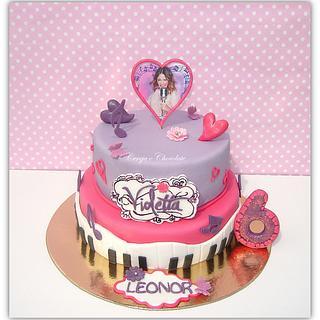 """Violetta cake"" - Cake by Cerejaechocolate"