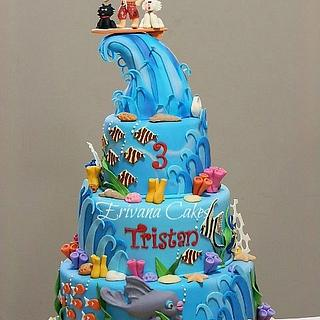 Surfing Waves and Sea Cake
