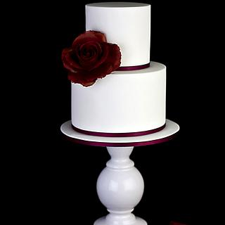 Simple Valentine's Cake