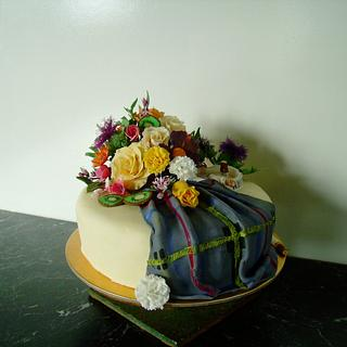 Tartan cake - Cake by Thereseanne
