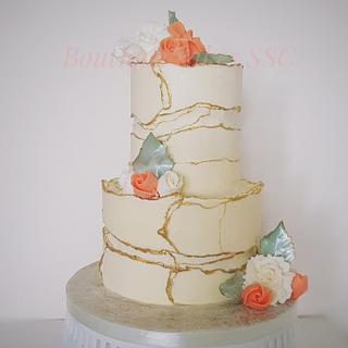 The deckled-edge cake