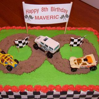 Race Track - Cake by Pamela
