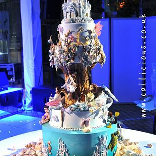 Enchanted Wedding Cake