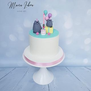 Pusheen - Cake by Maira Liboa