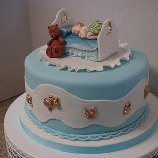 Baby shower cake - Cake by Patricia M