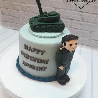 Army cake - Cake by Yasmin Amr