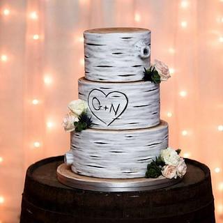 Tree-themed Wedding cake - Cake by Probst Willi Bakery Cakes