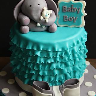 A Baby Shower Cake - Cake by Aaradhana Sethi