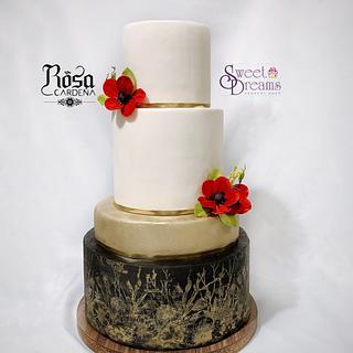 Wedding cake - Cake by Rosa Cardeña