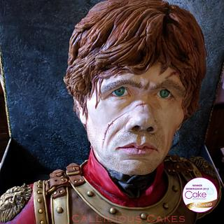 Tyrion Lannister - Cakes International 2015