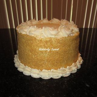 Banana Cream Cake - Cake by Michelle