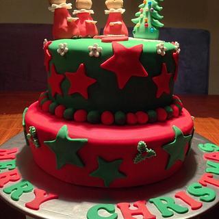 Christmas Boys Choir Cake