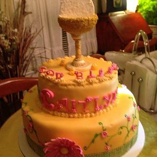 First Communion Chalice/Cake Pops