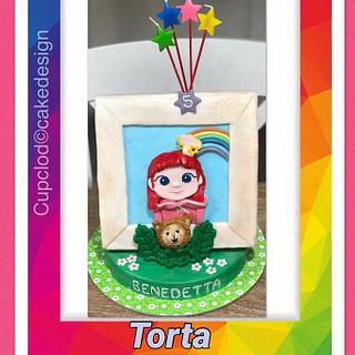 Ruby Arcobaleno - Cake by CupClod Cake Design