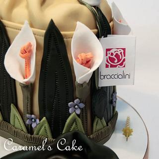 Waiting the spring with Braccialini bag - Cake by Caramel's Cake di Maria Grazia Tomaselli