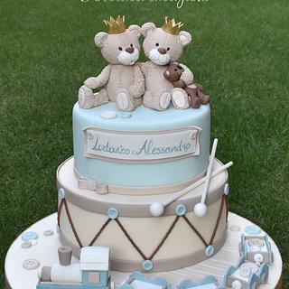 Cute twins - Cake by Dolcidea creazioni